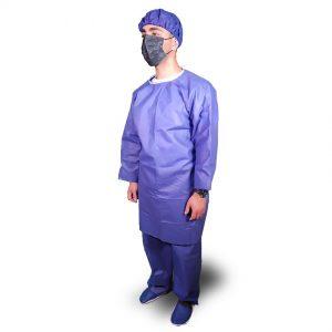 لباس بیمار-گان کلاه شلوار