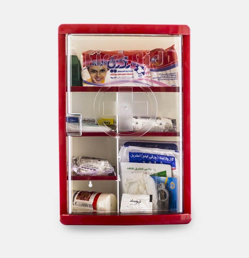 جعبه کمک های اولیه لوتوس – تجهیز شده