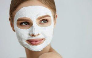 ماسک روشن کننده پوست شیر، عسل، آبلیمو