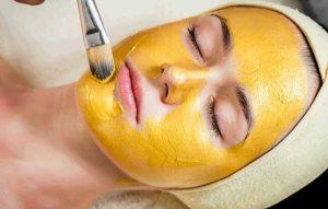 ماسک روشن کننده پوست زردچوبه و آبلیمو