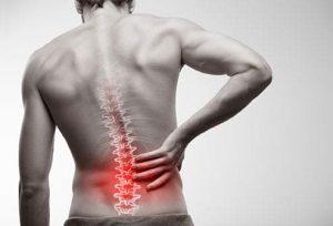 علت درد وسط ستون فقرات
