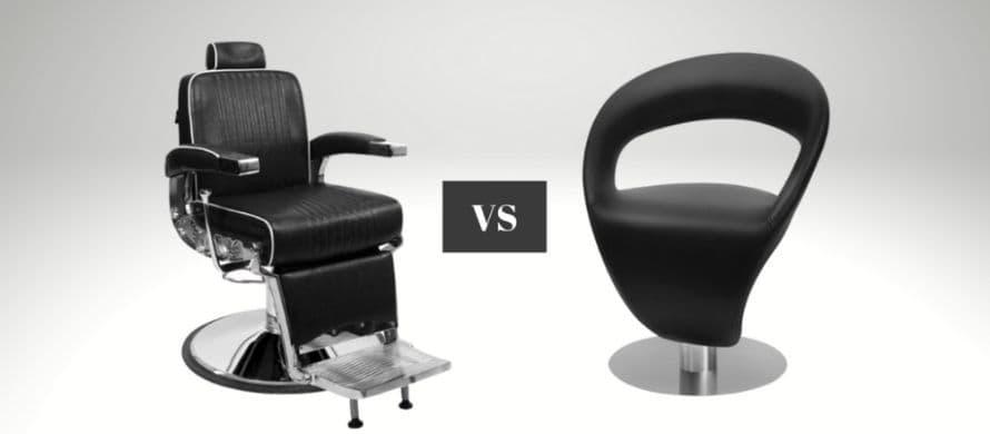 تفاوت صندلی آرایشگاه مردانه و زنانه در چیست؟