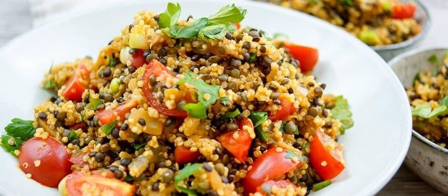 لیست غذاهای قابل پخت با کینوا
