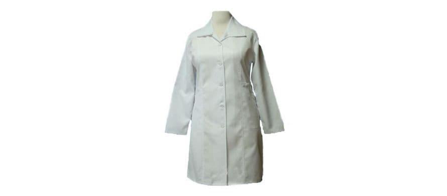 روپوش سفید زنانه ترگال مدل چهار جیب