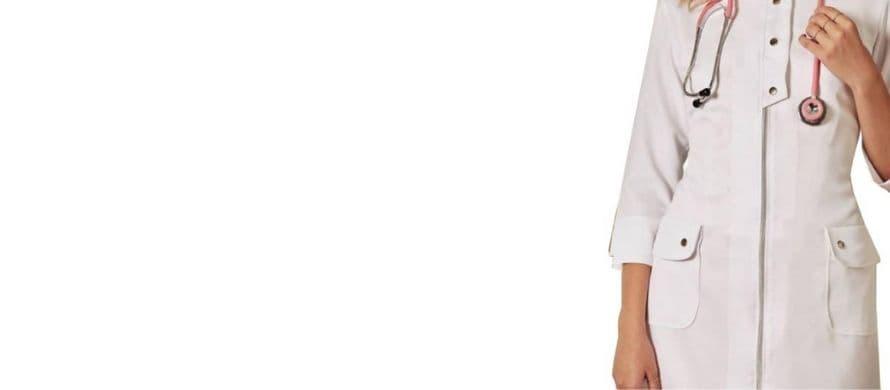 روپوش سفید زنانه مدل زیپدار کوتاه