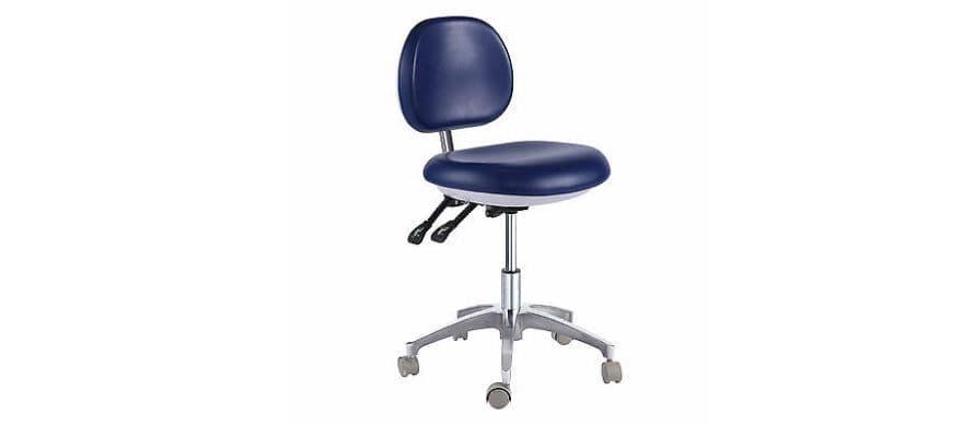 ظاهر صندلی آزمایشگاهی و تابوره - ارتفاع صندلی