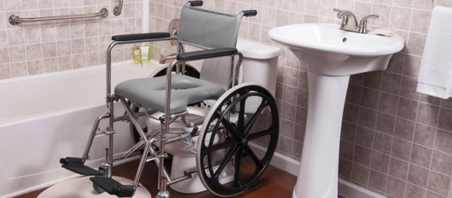ویلچر حمامی و توالت چیست؟
