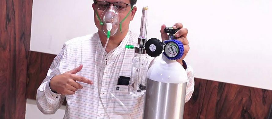 نحوه استفاده درست از کپسول اکسیژن