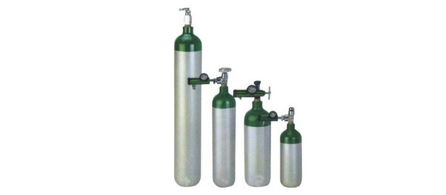 انواع حجم و ظرفیت کپسول اکسیژن همراه