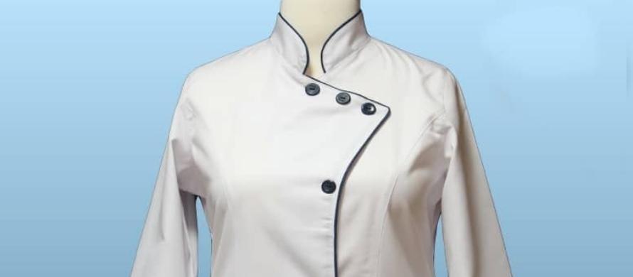 روپوش سفید زنانه ترگال مدل سه دکمه